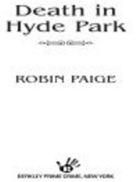Death In Hyde Park By: Robin Paige