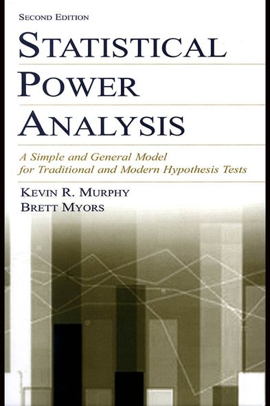 Statistical Power Analysis