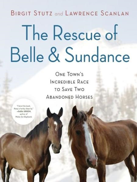 The Rescue of Belle and Sundance: One Town's Incredible Race to Save Two Abandoned Horses