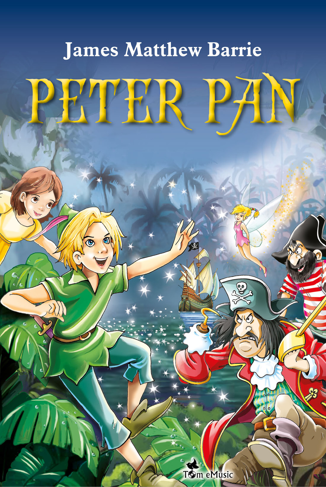 Peter Pan. An Illustrated Story for Kids