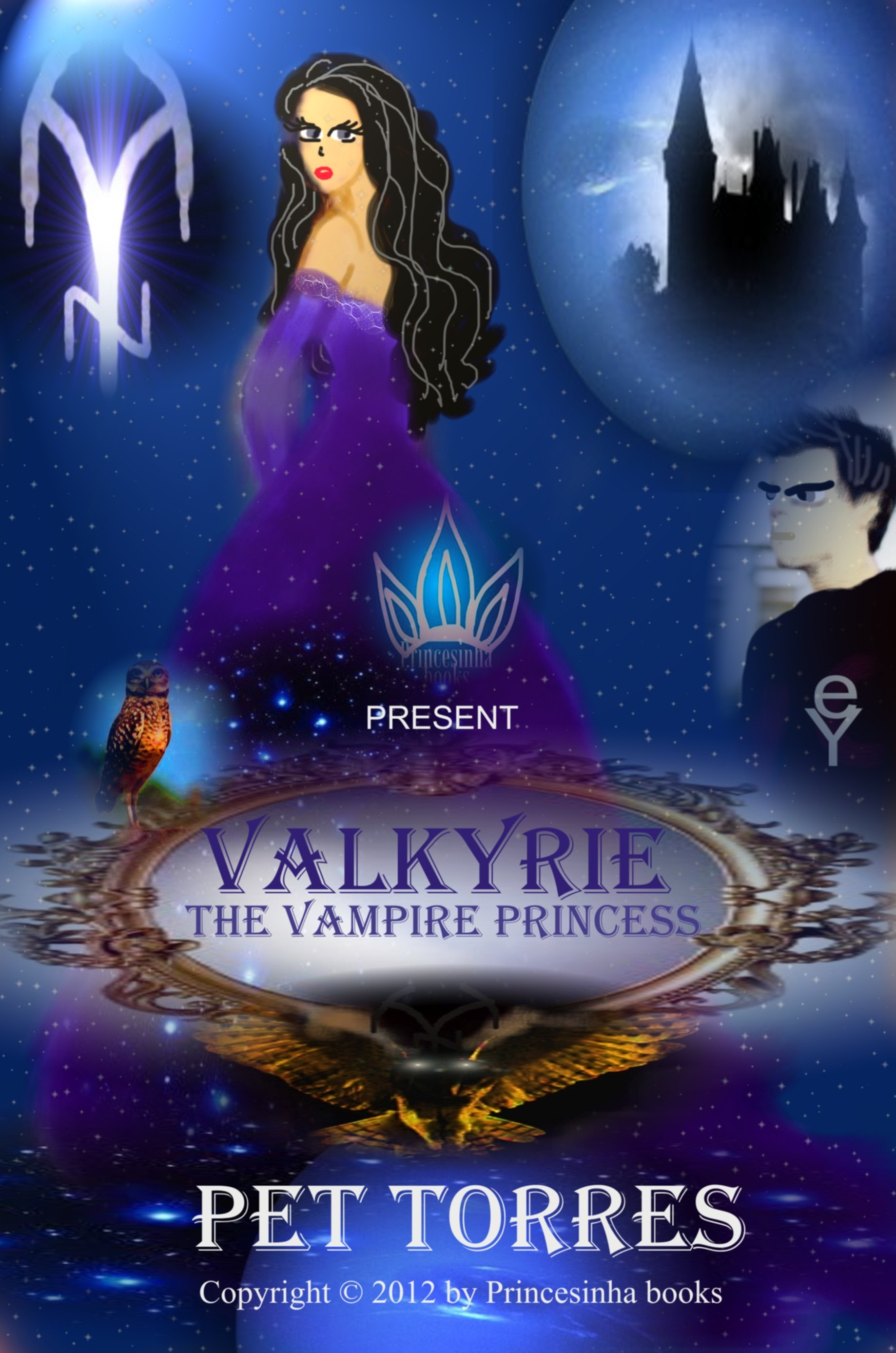Valkyrie - the vampire princess ( especial edition - book for children) By: Pet Torres