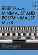 The Ashgate Research Companion To Minimalist And Postminimalist Music