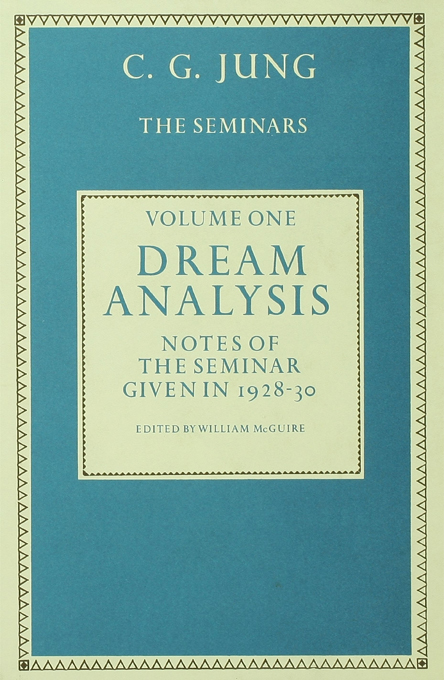 Dream Analysis 1 Notes of the Seminar Given in 1928-30