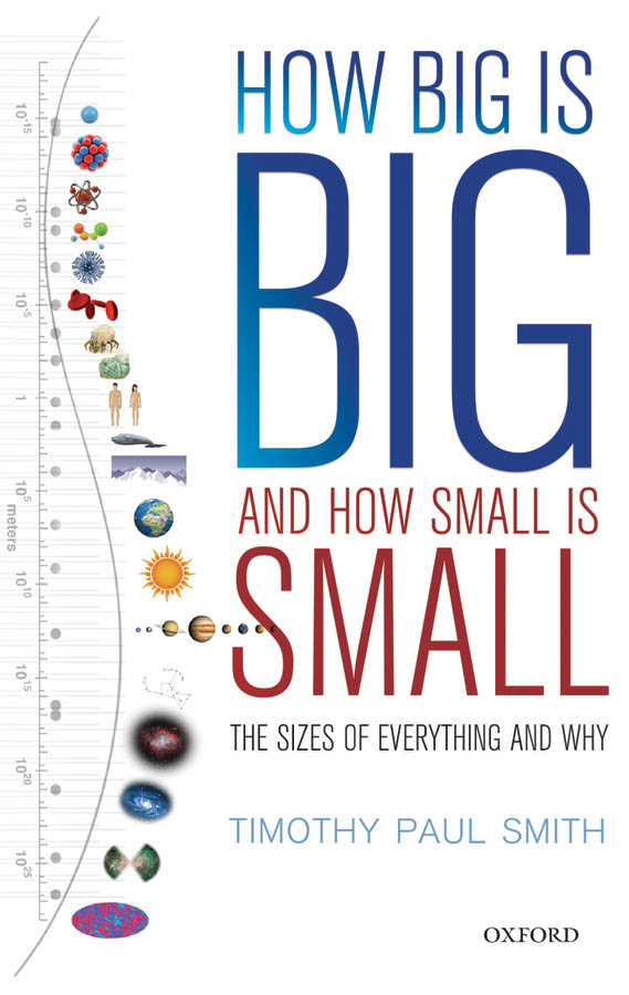 How Big is Big and How Small is Small: The Sizes of Everything and Why