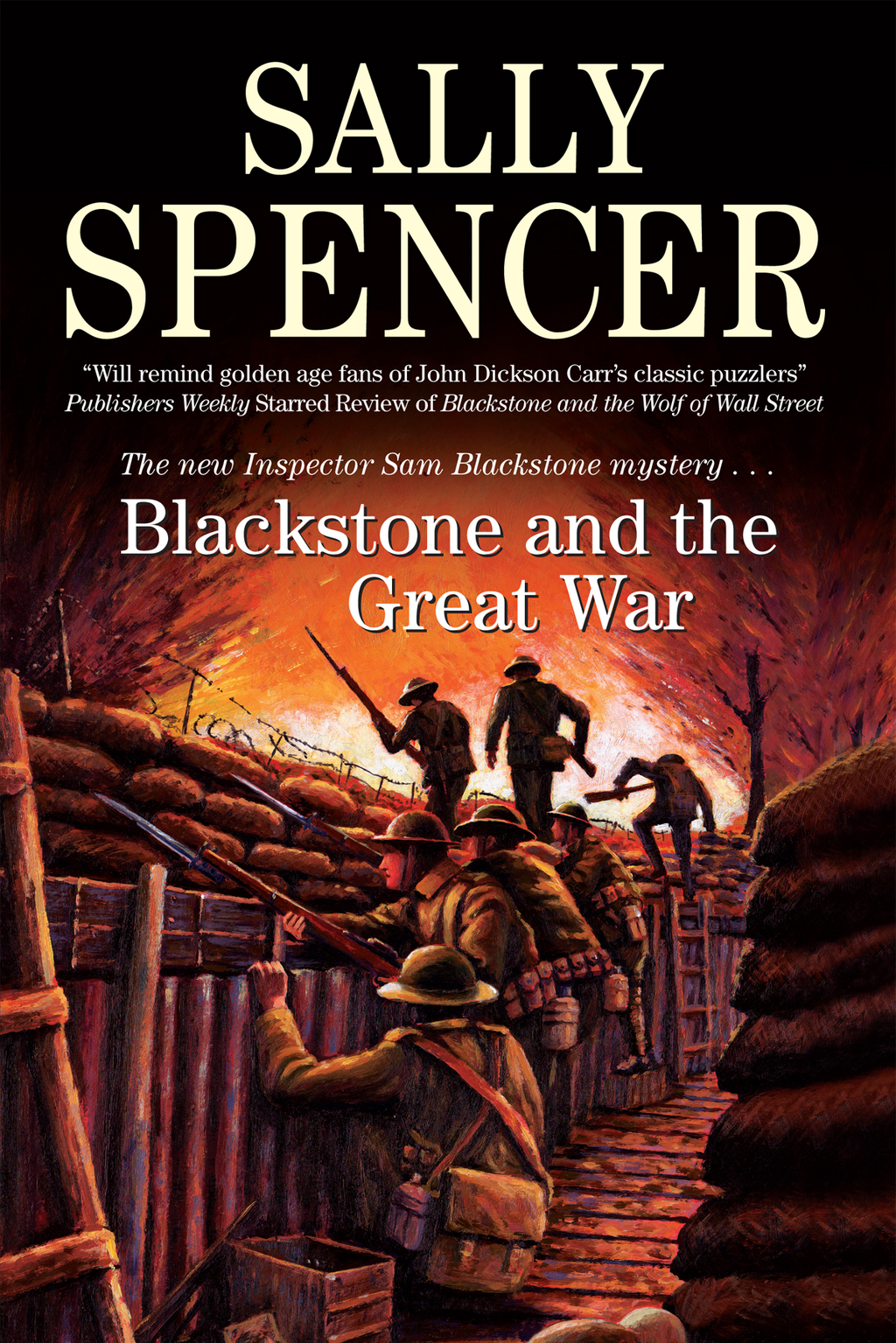 Blackstone and the Great War By: Sally Spencer