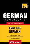 Picture of - German Vocabulary for English Speakers - 9000 Words