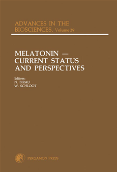 Melatonin: Current Status and Perspectives Proceedings of an International Symposium on Melatonin, Held in Bremen, Federal Republic of Germany, Septem
