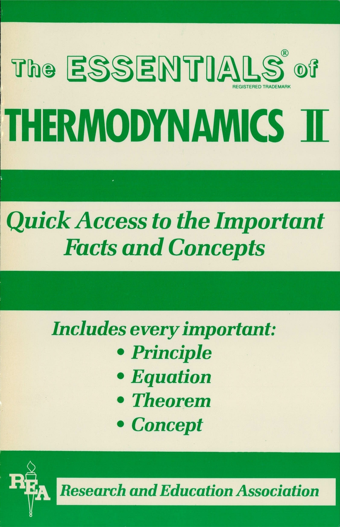 Thermodynamics II Essentials