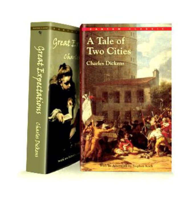 A Tale of Two Cities and Great Expectations (Bantam Classics Editions) By: Charles Dickens