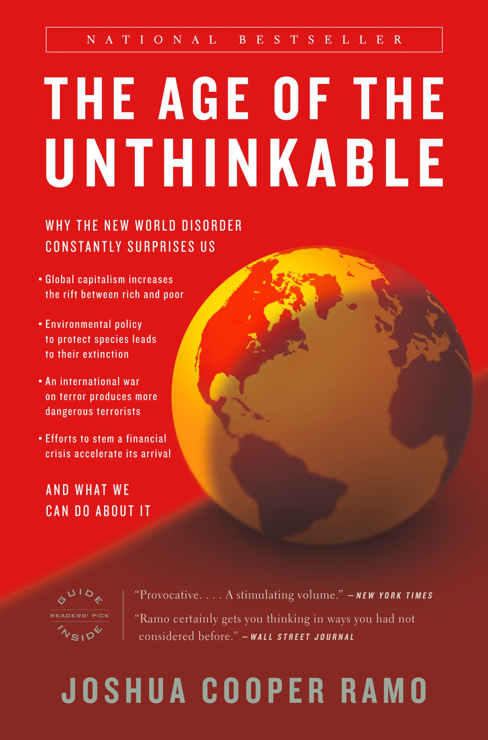 The Age of the Unthinkable By: Joshua Cooper Ramo