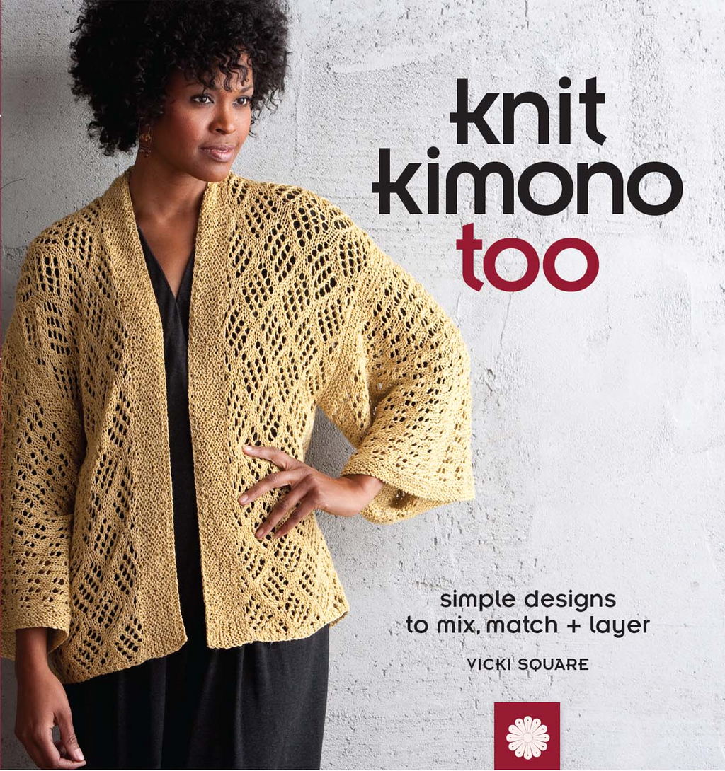 Knit Kimono Too Simple Designs to Mix, Match, and Layer
