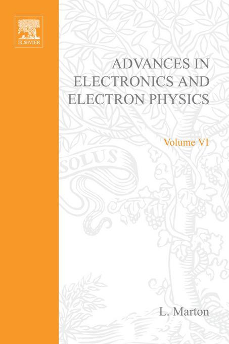 ADVANCES ELECTRONIC &ELECTRON PHYSICS V6