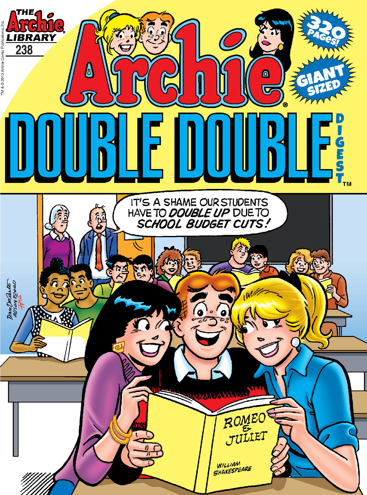 Archie Double Digest #238 By: Various