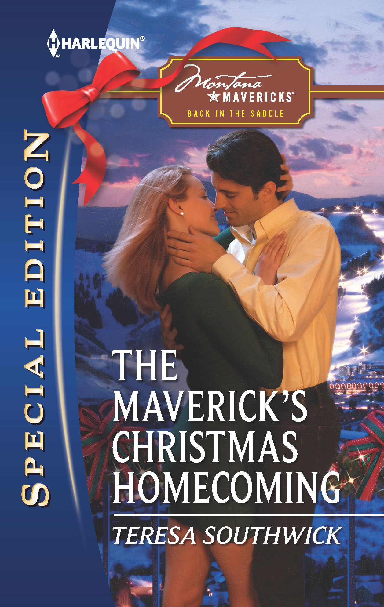The Maverick's Christmas Homecoming By: Teresa Southwick