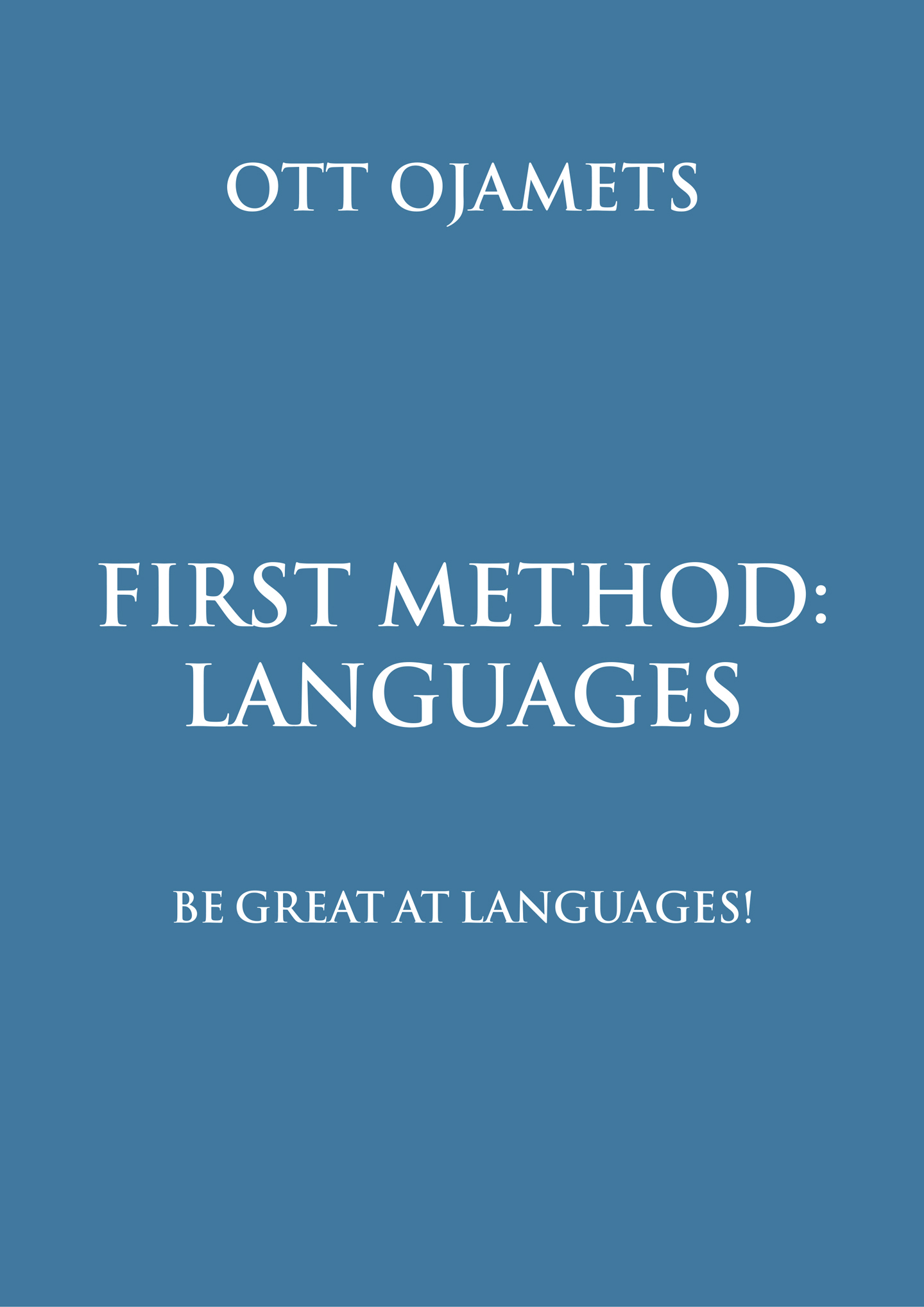 First Method: Languages