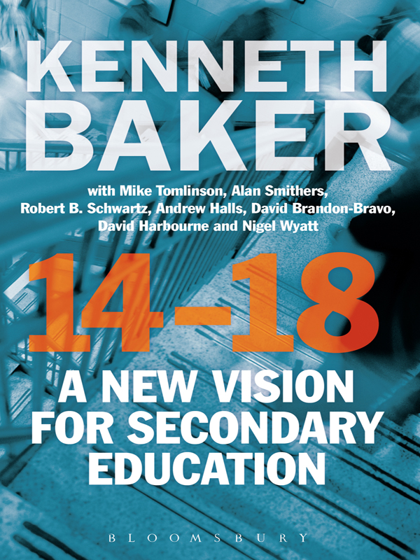 14-18 - A New Vision for Secondary Education