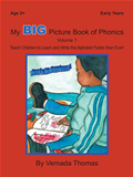 My Big Picture Book Of Phonics  by Vernada Thomas, ATENEOEL, Vernada Thomas and Vernada Thomas book cover | Buy My Big Picture Book Of Phonics from the Bookworld bookstore