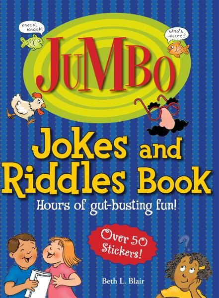 Jumbo Jokes And Riddles Book: Hours of Gut-busting�fun!
