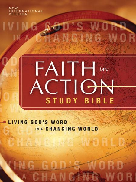 NIV Faith in Action Study Bible By: Zondervan