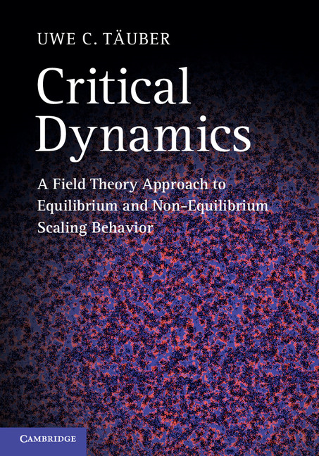 Critical Dynamics A Field Theory Approach to Equilibrium and Non-Equilibrium Scaling Behavior