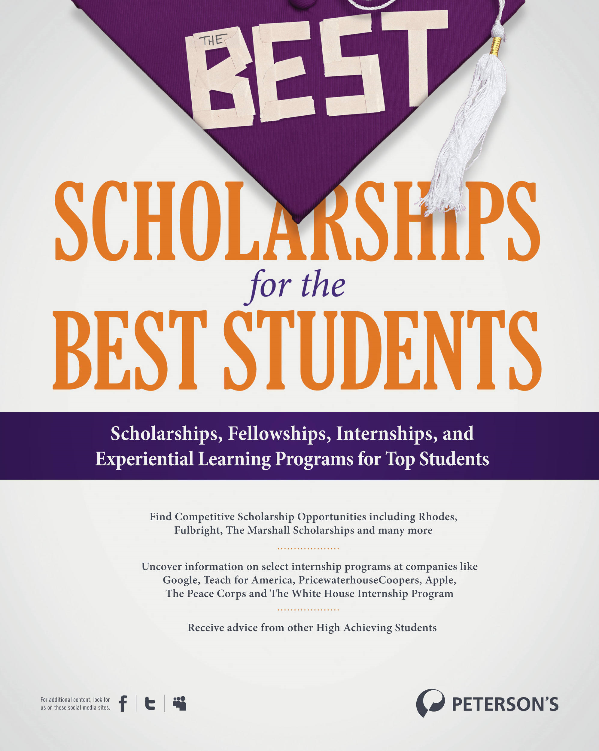The Best Scholarships for the Best Students--Advice from Student Winners: What's the Secret?
