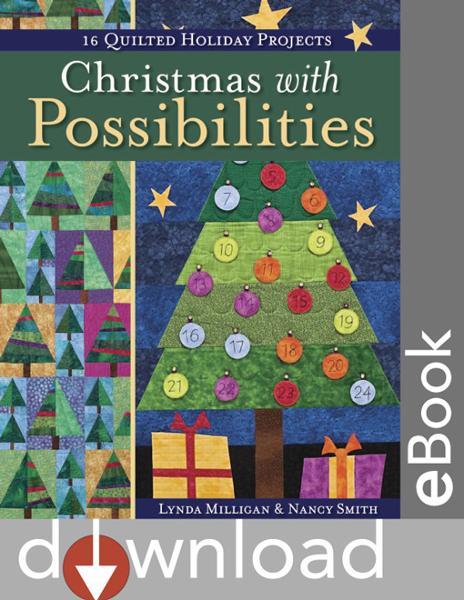 Christmas With Possibilities: 16 Quilted By: Milligan, Lynda