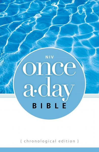 NIV Once-A-Day Bible: Chronological Edition By: Zondervan