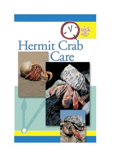 Quick & Easy Hermit Crab Care By: Pet Experts at TFH