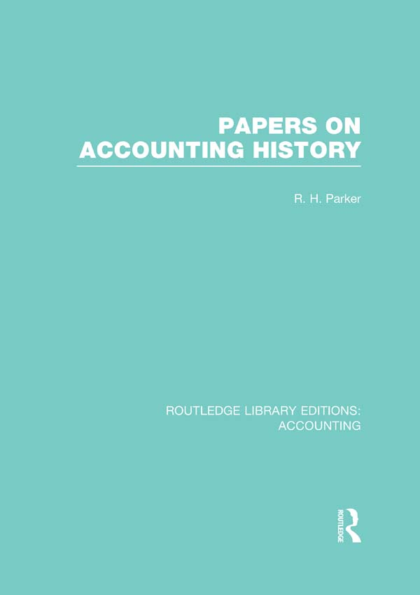 Papers on Accounting History