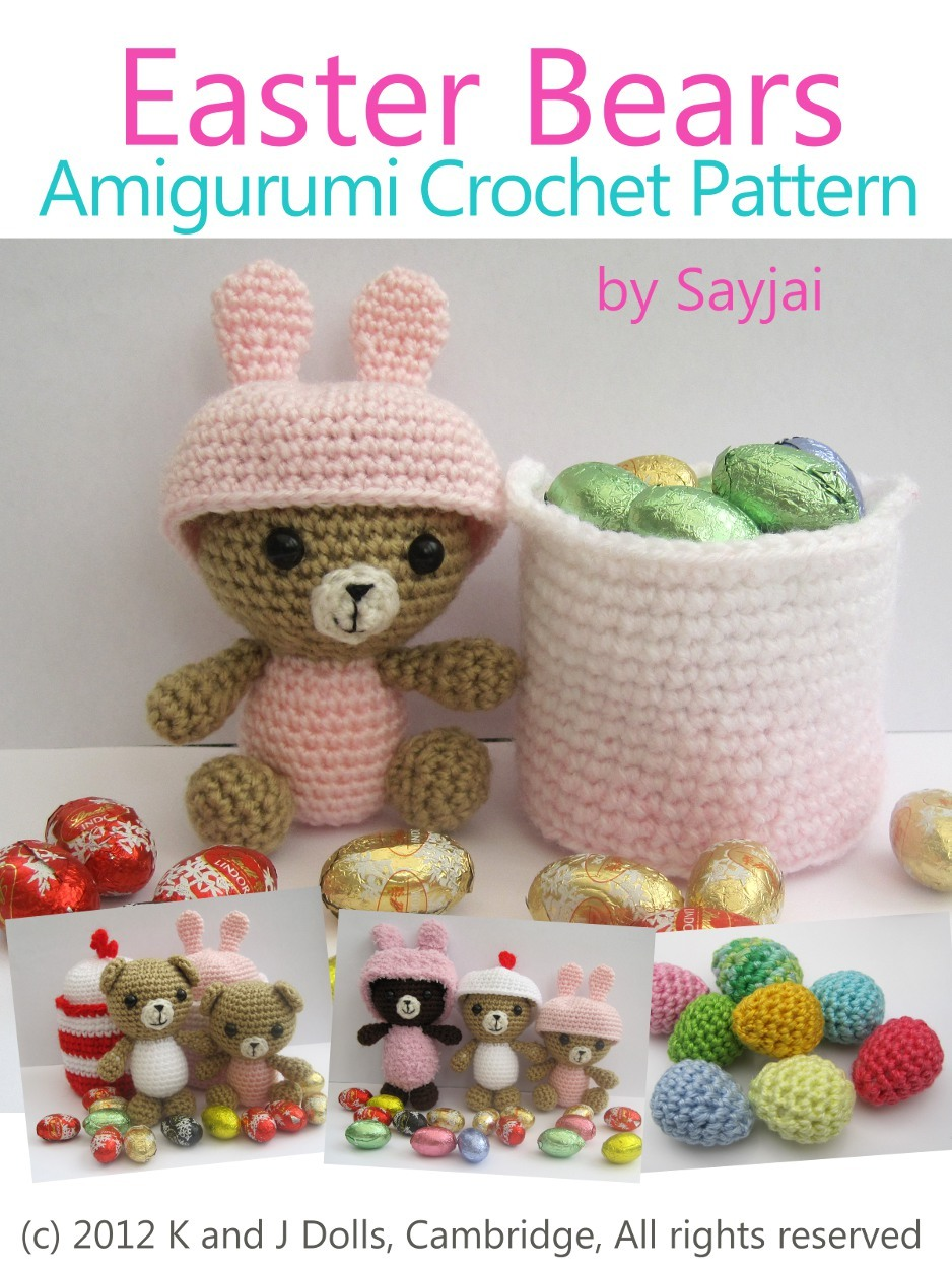 Easter Bears Amigurumi Crochet Pattern