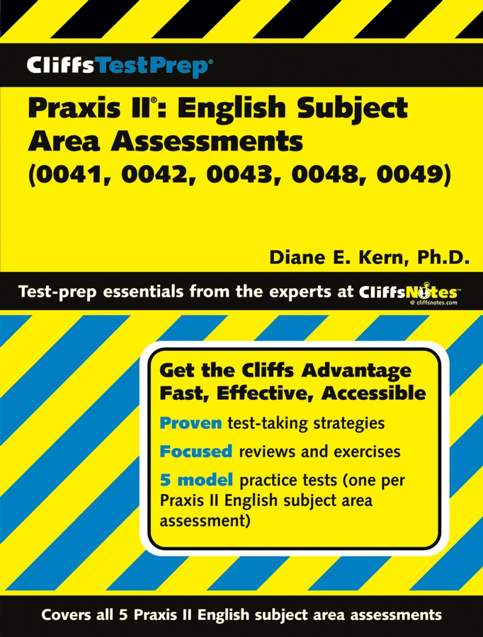 CliffsTestPrep Praxis II: English Subject Area Assessments (0041, 0042, 0043, 0048, 0049)