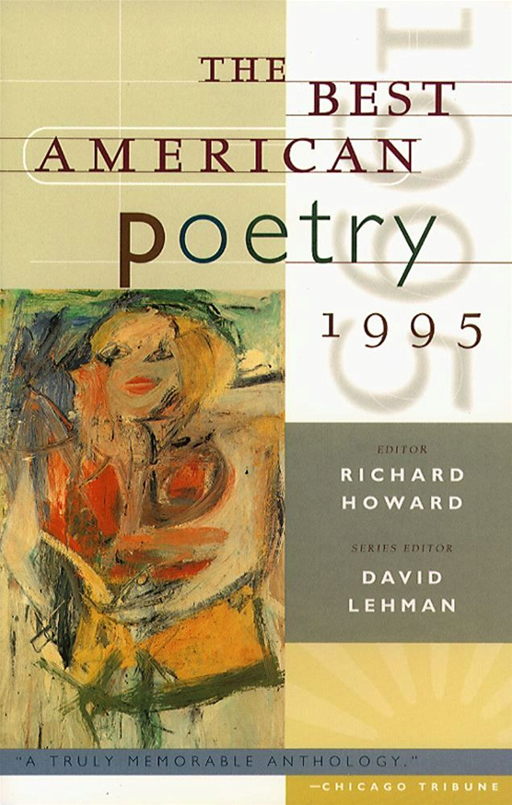 The Best American Poetry 1995 By: