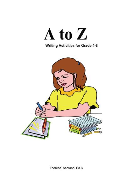 Kidtracts: A to Z Writing Activities