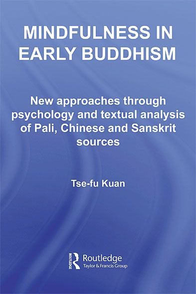 Mindfulness in Early Buddhism