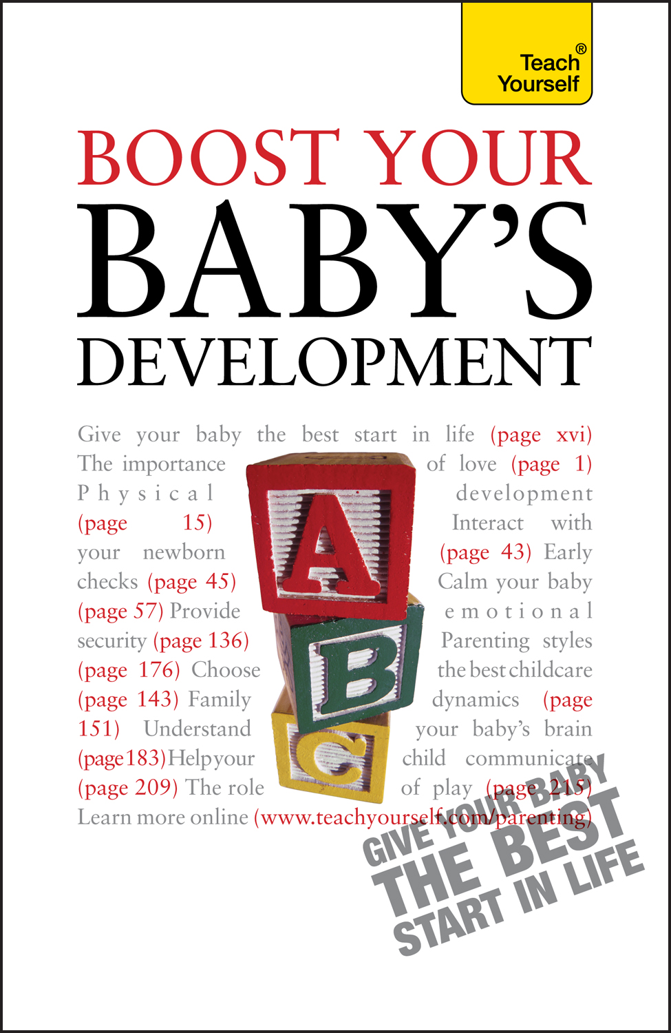 Boost Your Baby's Development By: Caroline Deacon