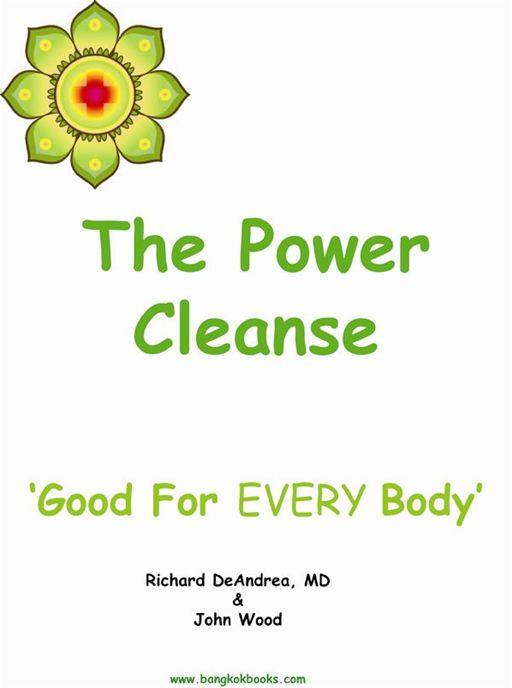 The Power Cleanse By: John Wood,Richard DeAndrea