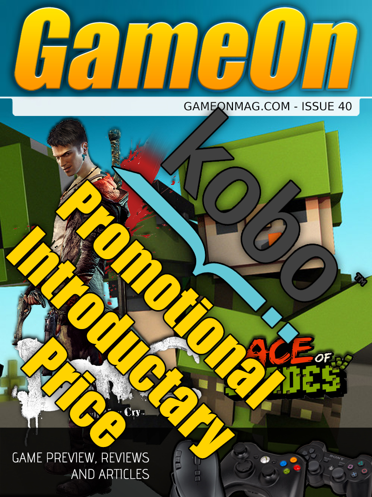 GameOn Magazine Issue 40 (February 2013)