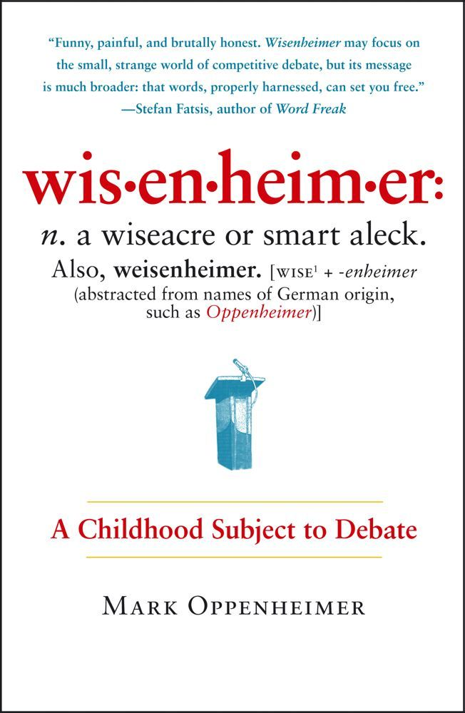Wisenheimer By: Mark Oppenheimer