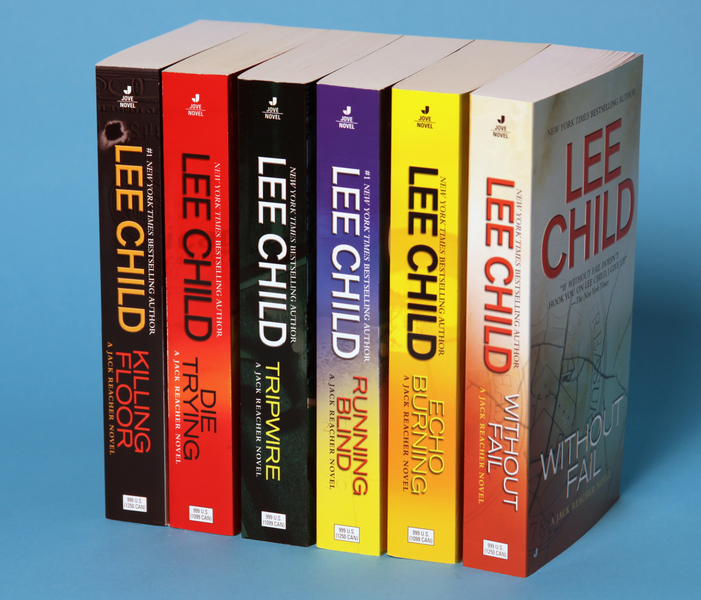 Lee Child's Jack Reacher Books 1-6 By: Lee Child