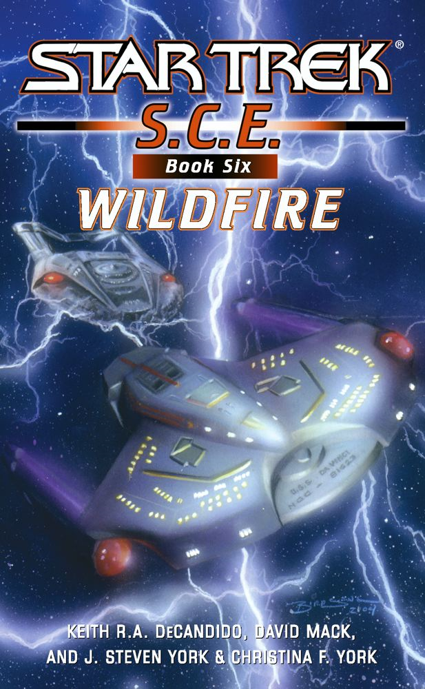 Star Trek: Corps of Engineers: Wildfire By: Christina F. York,David Mack,J. Steven York,Keith R. A. DeCandido