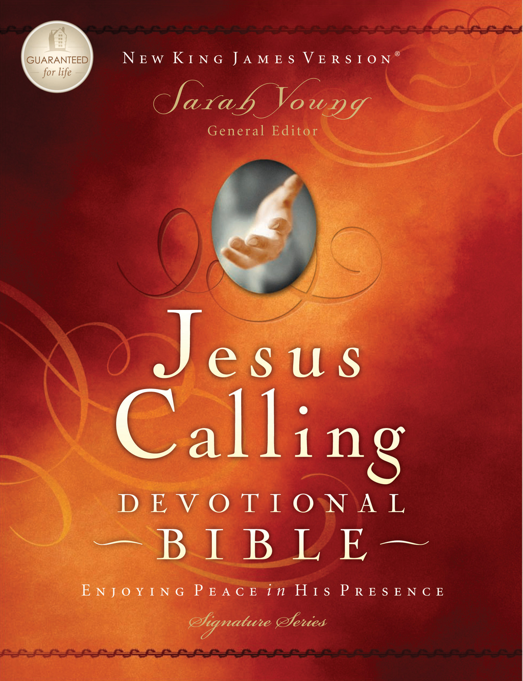 Jesus Calling Devotional Bible, NKJV By: Sarah Young