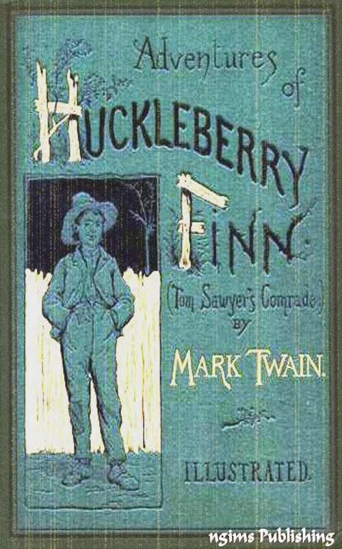 Mark Twain - The Adventures of Huckleberry Finn (Illustrated + Audiobook Download Link + Active TOC)