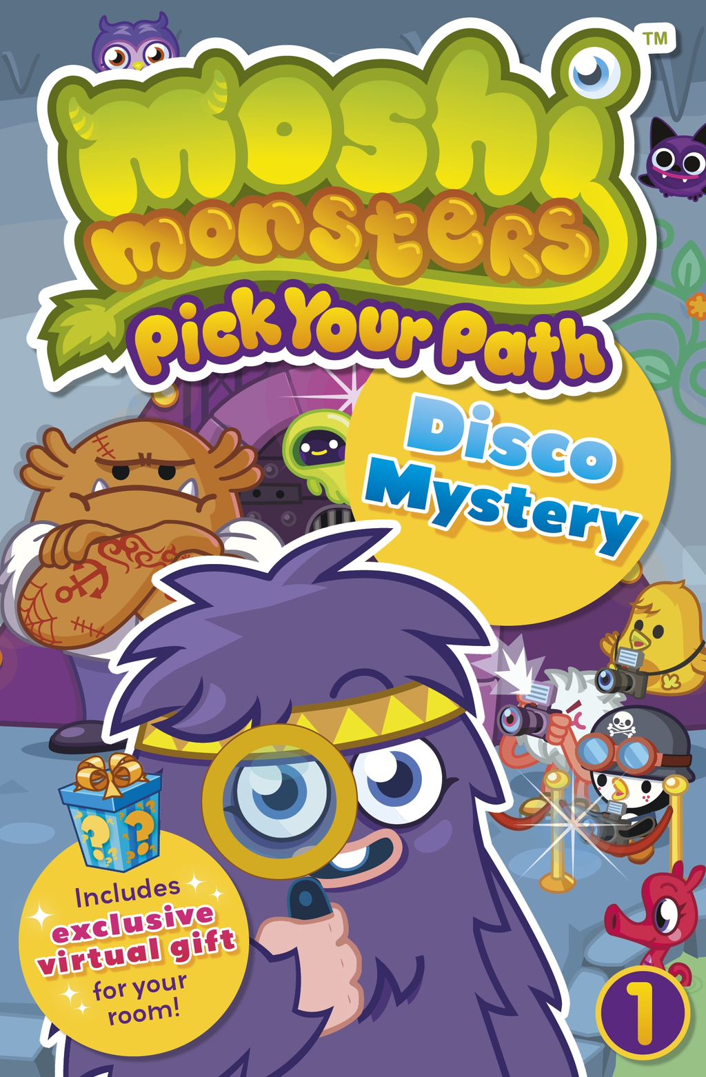 Moshi Monsters Pick Your Path 1: Disco Mystery Disco Mystery