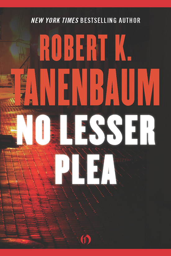 No Lesser Plea By: Robert K. Tanenbaum