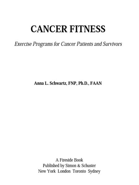 Cancer Fitness
