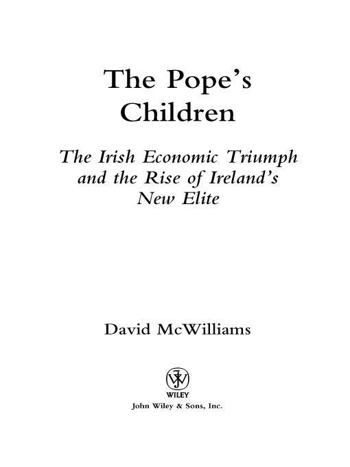 The Pope's Children By: David McWilliams