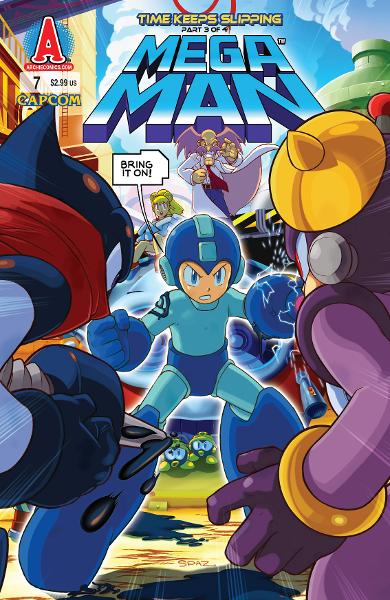 Mega Man #7 By: Ian Flynn, Chad Thomas