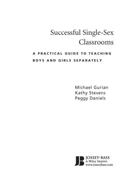 Successful Single-Sex Classrooms