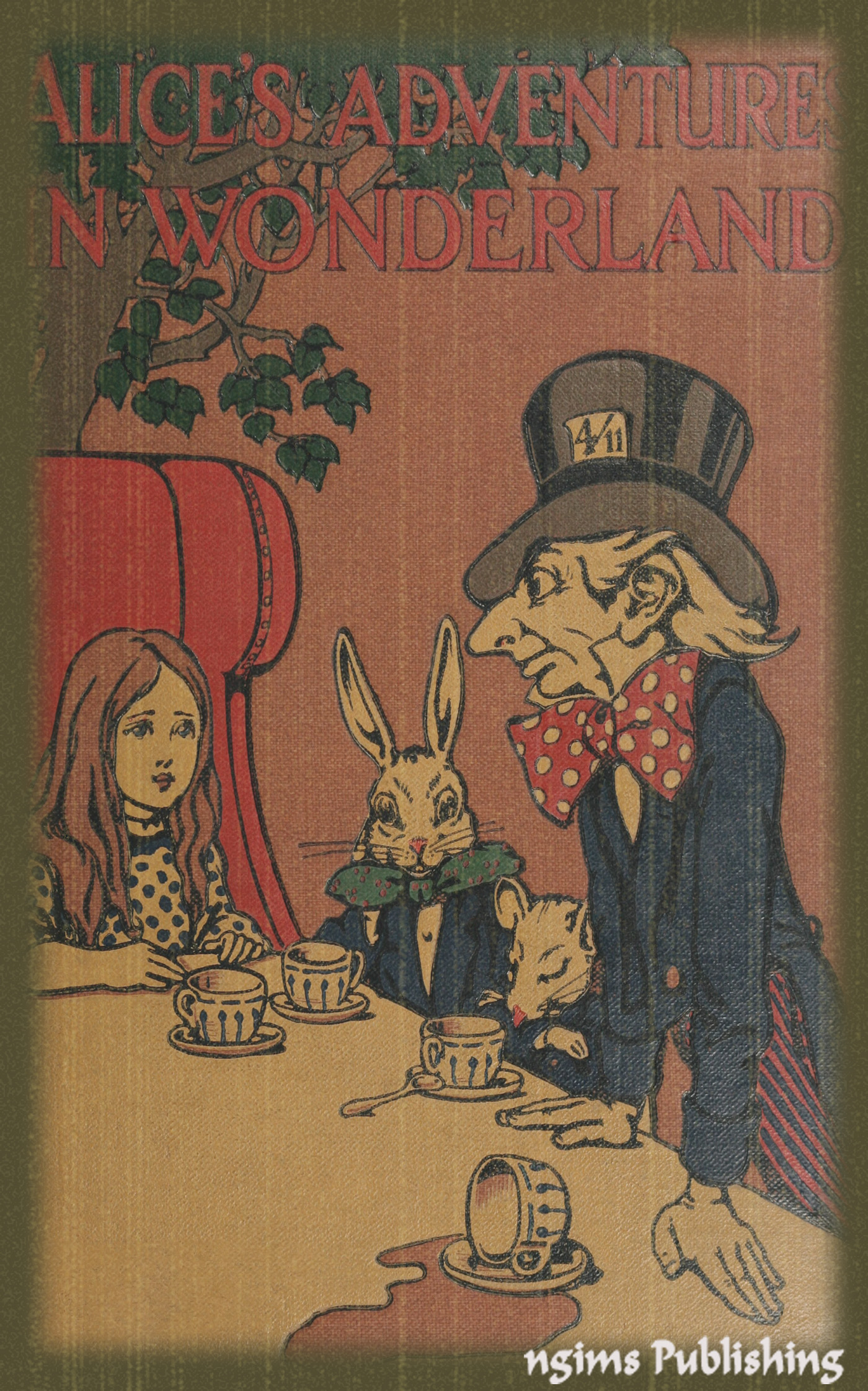 Alice's Adventures in Wonderland (Illustrated by John Tenniel + Audiobook Download Link + Active TOC)