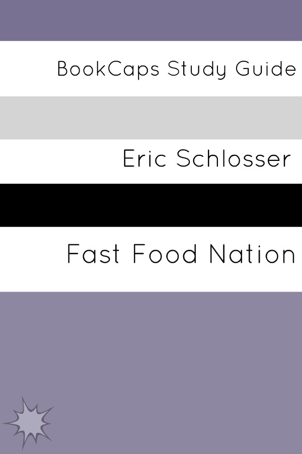 Study Guide: Fast Food nation (A BookCaps Study Guide)